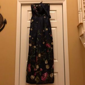 Kay Unger Strapless Dress! Worn once!